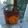The Cupcake Rack - Create a Cupcake Bouquet in a Flower Pot