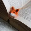 Cute Needle Felted Animal Head Bookmarks
