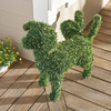 Decorative Peeing Dog Topiary