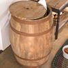 Deep Creek Wine Barrel Storage Table
