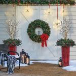 Double Door Wreath