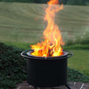 Double Flame Smokeless Fire Pit
