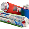 Double Up Folding Can Cooler - Holds 2 Cans At Once