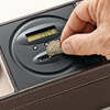 Dresser Valet With Digital Coin Counter
