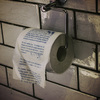 The Drop - Horror Novel Toilet Roll