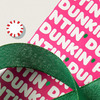 Dunkin' Peppermint Mocha Scented Wrapping Paper