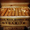 Dynamite Fire Starters in a Wooden Crate