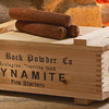 Dynamite Fire Starters in Wooden Crate