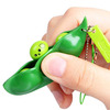 Edamame Popping Keychain / Fidget Toy