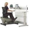 Elliptical Machine Adjustable-Height Desk