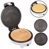 Emoji Pancake and Waffle Maker w/ Interchangeable Plates