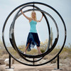 Etazin - Gyroscopic Spinning Hammock / Outdoor Sculpture
