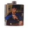 Evil Drunk Superman Flask