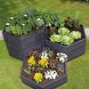 Exaco Modular Hexagon Raised Garden Bed Planter