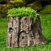 Fairy Garden Tree Stump Planter