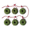 Festive Bird Seed Tree Ornaments and String Lights