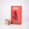 Festive Boozeballs - Christmas Ornament Flasks