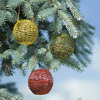 Festive Mini Globe Bird Feeders