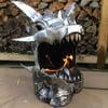 Fire-Breathing Dragon Fire Pit / Metal Art