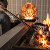 FireDragon Fireplace Tool - All-in-One Poker,  Bellows, and Rake