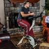 FitDesk X1 - Folding Exercise Bike With Sliding Desk Platform