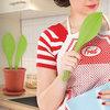 Flora - Pure Silicone Spoon and Spatula Set