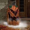 Giant Fogging Jack-O-Lantern