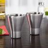 Freezable Stainless Steel Shot Glasses