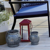 Galvanized Slatted Lanterns