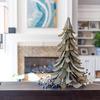 Galvanized Steel Christmas Tree Sculpture