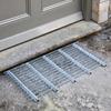 Galvanized Steel Door Mat / Boot Scraper