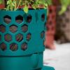 Gardener's Revolution - Self-Watering Tomato Planter With Support Rings
