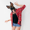 German Shepard Mask