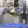 Giant 7' Inflatable Elephant!