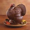 Giant Chocolate Turkey Thanksgiving Centerpiece