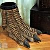Giant Dinosaur Foot Waste Basket