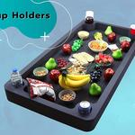 Giant Floating Buffet Serving Tray / Ice Cooler for the Pool