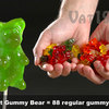 Giant Gummy Bear on a Stick - 88 Times Larger!