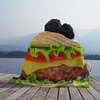 Giant Hamburger Blanket