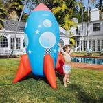 Giant Inflatable Rocket Ship Sprinkler - Stands Over 7.5 Feet Tall!