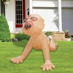 Giant Inflatable Zombie Baby