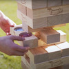 Giant Tipsy Topple - Wooden Tumbling Tower With Hidden Jello Shots
