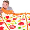 Gigantic 28 Pound Gummy Pizza Slice