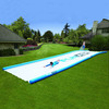Gigantic Backyard Water Slide