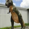 Gigantic Lifesize Tyrannosaurus Rex Dinosaur Statue