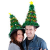 Gigantic Light-Up Christmas Tree Hat