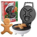 Gingerbread Man Mini Waffle Maker
