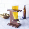 Glass Viking Beer Horn