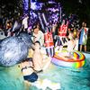 Googly-Eyed Rock Pool Float