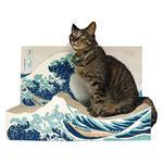 Great Wave Off Kanagawa Cat Scratcher